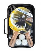 Набор Donic PERSSON 500 (2 ракетки, 3 мячика, чехол) 788490