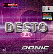 Накладка для ракетки Donic Desto F1 черная max