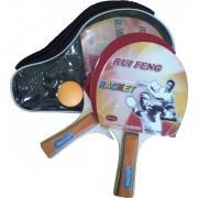 Набор для настольного тенниса RUIFENG 2108 А (2 ракетки + 1 шар) в чехле