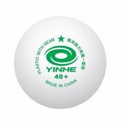 Мячи для настольного тенниса Yinhe 40+ 1* со швом 10 шт