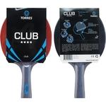 Ракетка для настольного тенниса Torres Club 4*, арт. TT0008, для тренировок, накладка 2,0 мм, конич. ручка