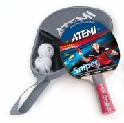 Набор для настольного тенниса Atemi Sniper APS (1ракетка+чехол+2 мяча***)