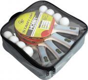 "Набор для настольного тенниса ""Start Up"": 4 ракетки, 8 шариков. BB02/1 star (8008)"