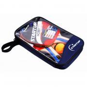 Игровой набор для настольного тенниса Start Up (2 ракетки и 3 шарика) в чехле