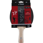Ракетка для настольного тенниса Stiga Reach WRB 2**, арт. 1212-8618-01, для тренир., накладка 1,9 мм, ITTF, кон. ручка