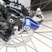 Замок для велосипеда на дисковый тормоз
