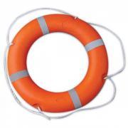 Круг спасательный профессиональный Аквамания, внутренний ? 45 см, внешний ? 75 см