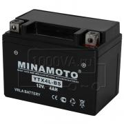 Аккумулятор для мототехники MINAMOTO YTX4L-BS (12 В, 3 Ач)