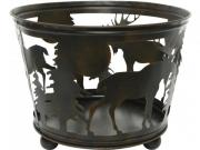Чаша для костра Лесной Огонек 45 см, металл Kaemingk [ID57899]