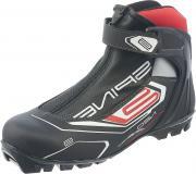 Ботинки лыжные мужские SPINE Neo 161 NNN, цвет: черный, красный. Размер 41
