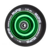 Колесо HIPE Solid 110mm зеленый/черный