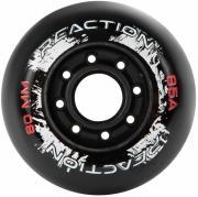 Набор колес для роликов REACTION 80мм, 85А, 4 шт.