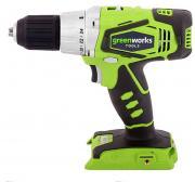 Дрель-шуруповерт аккумуляторная Greenworks 24V без аккумулятора 3701507