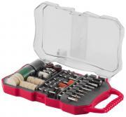 ЗУБР для гравёре и электродрели набор мини-насадок для гравера, 70 предметов 35906-H70