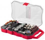 ЗУБР для гравёре и электродрели набор мини-насадок для гравера, 208 предметов 35901-H208