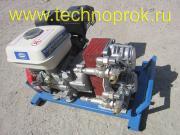 Установка «ТЕХНОПРОК МБ-24», переносная, двигатель 5л.с. Бак на 4л, бензин АИ95. Шланги 25м (возможно удлинение до 50м). Вторая функция — гудронатор!
