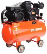 Компрессор Patriot PTR 50-260A, Ременной, 220В, 2 кВт, 12 мм, 525306320