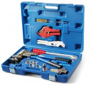 Пресс инструмент Vieir механический для труб REHAU 16-25 (5 насадок) VER1232-5