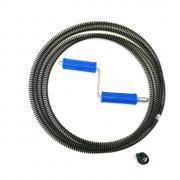 Трос сантехнический для прочистки канализации, спираль RID-GIR комплект мини 16мм 5м