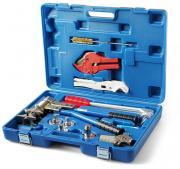 Пресс инструмент Vieir для труб REHAU с насадками и тисками Ф16-32