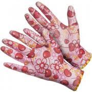 Перчатки нейлоновые с нитриловым покрытием цветные