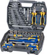 """Набор инструментов Kraft """"Professional"""", универсальный, 1/2'', 1/4'', 73 предмета"""