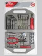 Набор инструментов в чемодане, 28 предметов Vira 305004
