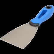 Нержавеющий шпатель 80 мм, ручка G-13