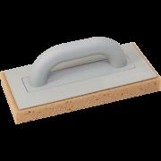 Пластмассовая тёрка с губкой с насечками 140х280 мм - арт.0324