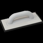 Пластмассовая тёрка с черной резиной 140х280 мм
