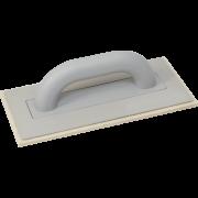Пластмассовая тёрка с войлоком 140x280 мм