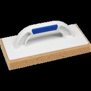 Пластмассовая тёрка с губкой с насечками 140х280 мм, ручка G-17