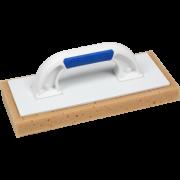 Пластмассовая тёрка с губкой со скошенными углами 130х290 мм