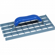Тёрка для снятия штукатурки, стальная 145x185 мм