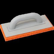 Пластмассовая тёрка с резиновой губкой 140x280 мм