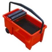 Litokol Емкость Скиппер с роликами для очистки плитки