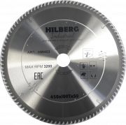 Диск пильный серия Hilberg Industrial 450*100T*50 mm HW453