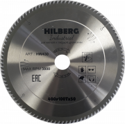 Диск пильный серия Hilberg Industrial 400*100T*50 mm HW430