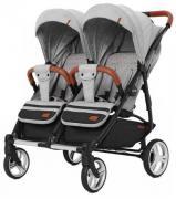 Детская прогулочная коляска для двойни Carrello Connect