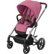 Детская коляска Cybex Balios S Lux SLV Magnolia Pink с дождевиком