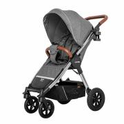 Прогулочная коляска Carrello Supra CRL-5510 Carbon Grey (надувные колеса)