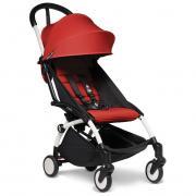 Прогулочная коляска BabyZen YOYO2 белое шасси Red