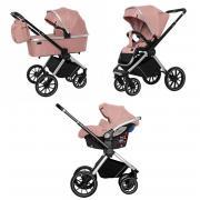 Коляска 3в1 Carrello Optima CRL-6504 Hot Pink