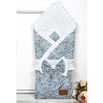 Одеяло на выписку AmaroBaby ЭЛИТ (серый, поплин/бязь)