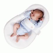 Кокон для новорожденного Farla Baby Shell белый