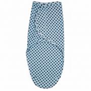 Чудо-пеленка BAMBOLA (набивка) модель Мальчик 440 голубой