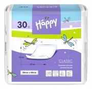 Bella baby Happy Одноразовые пелёнки Happy classic 60х60 см 30 шт.