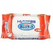 PIGEON Детские влажные гигиенические салфетки, мягкая упаковка с клапаном, 70 шт, PIGEON