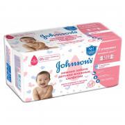 Johnson's Baby Салфетки влажные детские «Нежная забота», 128 шт