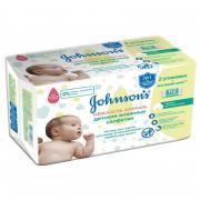 Johnson's Baby Салфетки влажные детские «Нежность хлопка», 112 шт